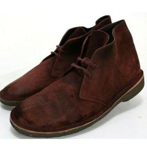 Clarks Originals Men's Desert Boots Size 9.5 Suede